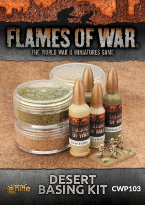 CWP103 Desert Basing Kit Battlefront- Blitz and Peaces