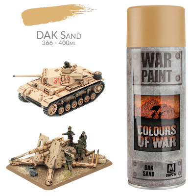 CWP212 Afrika Korps Spray Can: DAK Sand (400ml)