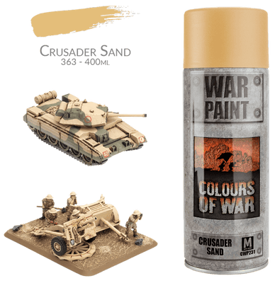 CWP231 Desert Rats Spray Can: Crusader Sand (400ml)