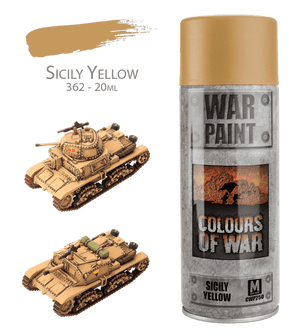 CWP250 Sicily Yellow Spray  *Not for Export*