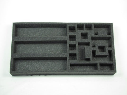 Flames of War Defense and Dig-In Markers Foam Tray (BFM) 15.5W x 8L x 1.5H