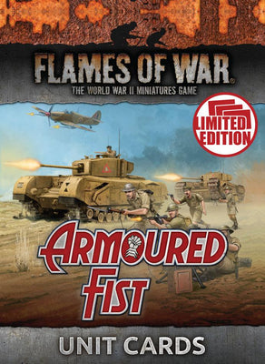 FW245U Armoured Fist Unit Cards