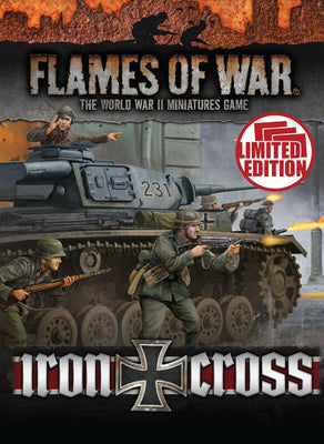 FW247U Iron Cross Unit Cards Battlefront- Blitz and Peaces