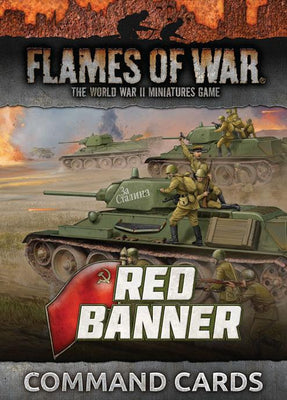 FW250C Red Banner Command Cards Battlefront- Blitz and Peaces