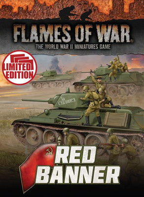 FW250U Red Banner Unit Cards Battlefront- Blitz and Peaces