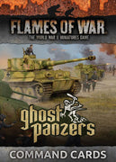 FW251C Ghost Panzers Command Cards Battlefront- Blitz and Peaces