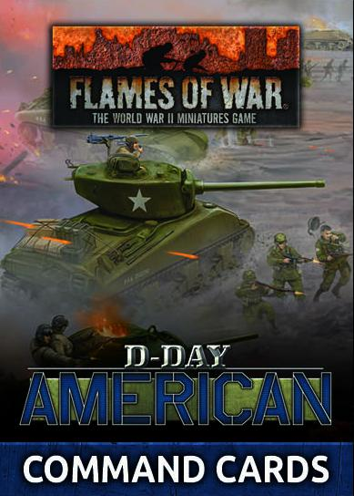 FW262C D-Day: American Command Cards Battlefront- Blitz and Peaces