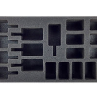 Flames of War British Artillery Foam Tray Battlefoam- Blitz and Peaces