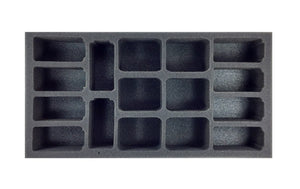 (Team Yankee) Flames of War German AA Foam Tray Battlefoam- Blitz and Peaces
