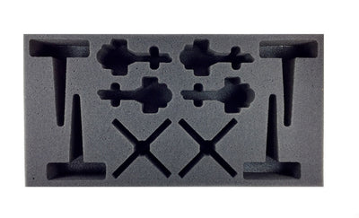Flames of War German PAH Foam Tray Battlefoam- Blitz and Peaces
