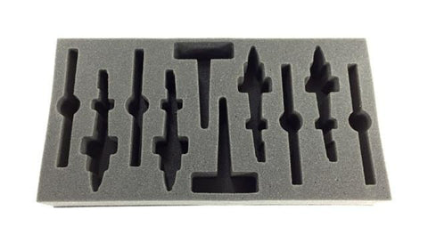 Flames of War US AH-1 Cobra Attack Helicopter Foam Tray