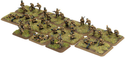 British Rifle Platoon Great War