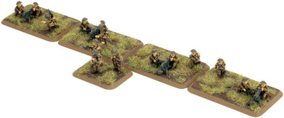 British Machine-gun Platoon