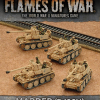 GBX101 Marder (7.62cm) Tank-hunter Platoon Battlefront- Blitz and Peaces