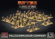 GBX136 Fallschirmjager Company (Plastic) Battlefront- Blitz and Peaces