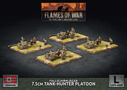 GBX139 Fallschirmjager 7.5cm Tank Hunter Platoon (Plastic) Battlefront- Blitz and Peaces
