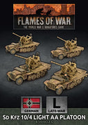 GBX147 SdKfz 10/4 Light AA Platoon Battlefront- Blitz and Peaces