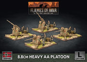 GBX149 8.8cm Heavy AA Platoon (Plastic) Battlefront- Blitz and Peaces