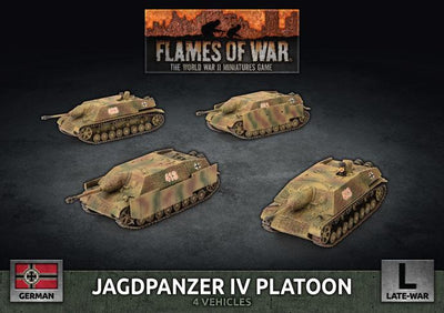 GBX151 Jagdpanzer IV Tank-Hunter Platoon Battlefront- Blitz and Peaces