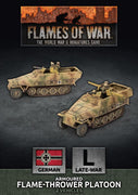 GBX156 Sd Kfz 251 Flamethrower Platoon Battlefront- Blitz and Peaces