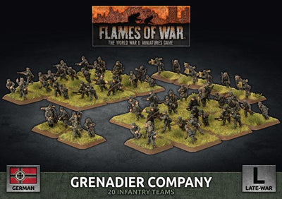 GBX170 Grenadier Company (plastic) Battlefront- Blitz and Peaces