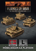 GBX174 Mobelwagen 3.7cm AA Tank Platoon Battlefront- Blitz and Peaces
