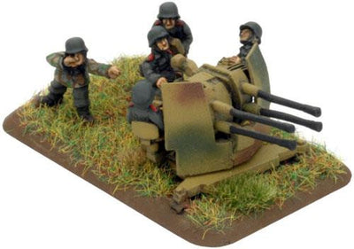 2cm Quad FlaK Gun Platoon Battlefront- Blitz and Peaces