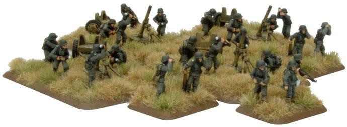 German Heavy Mortar Platoon