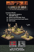 GE768 Fallschirmjager Platoon (plastic) Battlefront- Blitz and Peaces