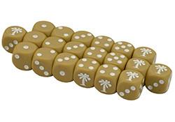 GE900 Afrika Korps Dice Set Battlefront- Blitz and Peaces