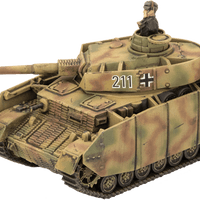 GEAB18 Panzer Kampfgruppe (Plastic) Battlefront- Blitz and Peaces