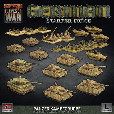 GEAB18 Panzer Kampfgruppe (Plastic)