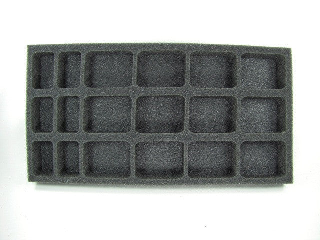 Flames of War German Kradshutzen Platoon Foam Tray (BFM) (15.5W x 8L x 1H)