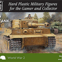 15mm Easy Assembly German Tiger I Tank