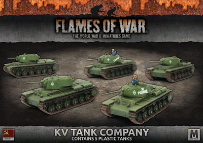SBX40 KV Tank Company (Plastic) Battlefront- Blitz and Peaces