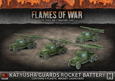 SBX44 Katyusha Guards Rocket Battery (Plastic) Battlefront- Blitz and Peaces