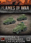 SBX46 BA-10 Armoured Car Platoon Battlefront- Blitz and Peaces