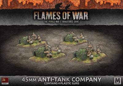 SBX47 45mm Anti-Tank Company (Plastic) Battlefront- Blitz and Peaces