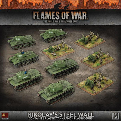 SUAB09 'Nikolay's Steel Wall' Army Deal (Plastic) Battlefront- Blitz and Peaces