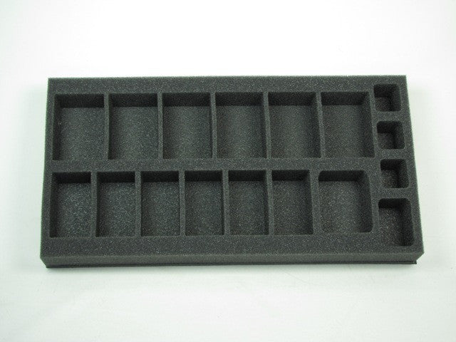 Flames of War Soviet Gun Team Foam Tray (BFM) 15.5W x 8L x 1.5H