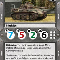 Tanks - Panther vs Sherman Starter Box Battlefront- Blitz and Peaces
