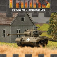 TANKS03 US Pershing Tank Expansion Battlefront- Blitz and Peaces