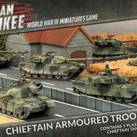TBBX01 Chieftan Armoured Troop (Plastic) Battlefront- Blitz and Peaces