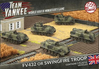 TBBX02 FV432 or Swingfire Troop (Plastic) Battlefront- Blitz and Peaces