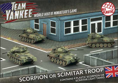 TBBX03 Scorpion or Scimitar Troop (Plastic) Battlefront- Blitz and Peaces