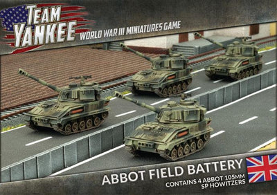 TBBX06 Abbot Field Battery Battlefront- Blitz and Peaces