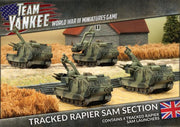 TBBX07 Tracked Rapier SAM Section Battlefront- Blitz and Peaces