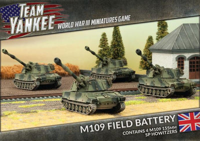 TBBX08 M109 Field Battery Battlefront- Blitz and Peaces