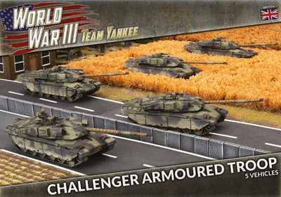 TBBX11 Challenger Armoured Troop (Plastic) Battlefront- Blitz and Peaces