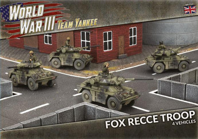 TBBX13 Fox Recce Troop (Plastic) Battlefront- Blitz and Peaces